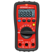 Benning MM 5-2 TRUE RMS Digi Multimeter 600VAC/DC 10A CAT III 600V 044071