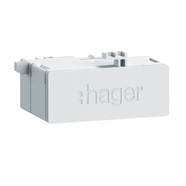 Hager ZZ45WAN2PP RJ45-Buchse in Patch/Patch Ausf 180° f.WAN-Anwendung