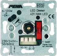 Peha D 431 HAN LED O.A. Dimmer UP Elektronik 00260623